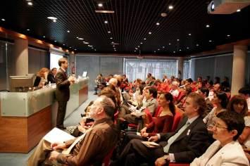 Conferencista en la presentación de la Metodología Autocoaching en Esade