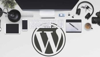 crear con WordPress
