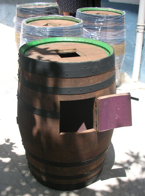 Muebles rusticos barril barricas y toneles