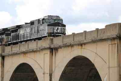 Train near Harrisburg, PA