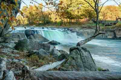 Ohiopyle Falls from Ferncliff side