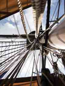 Ship Mast at Erie, PA