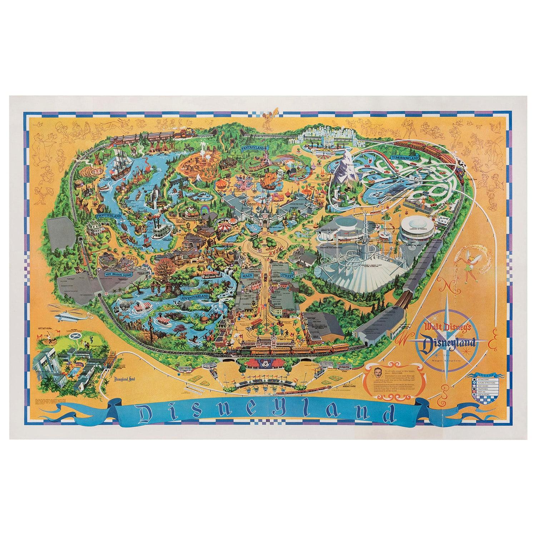 Animal Kingdom Map Messenger Bag