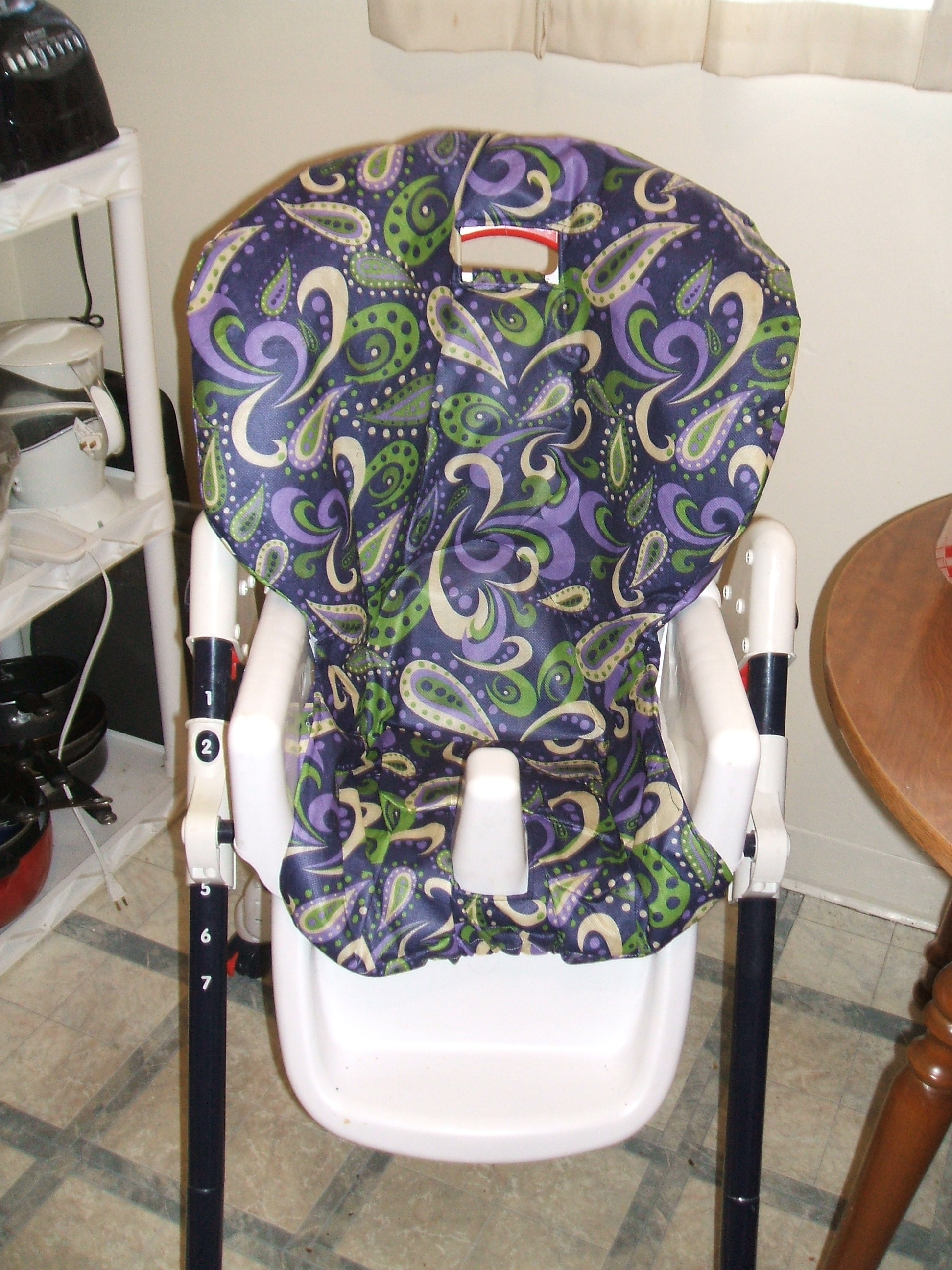 high chair covers for sale french arm chairs diy revamp peek a boo pages patterns