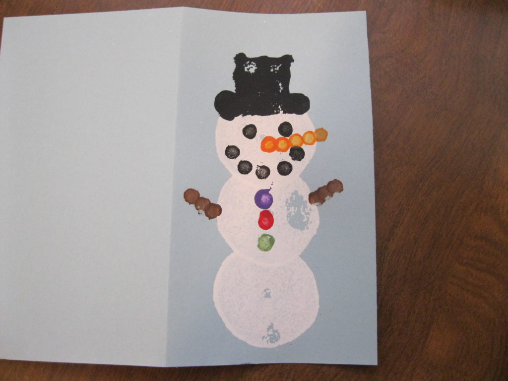 Kids Snowman Craft Peek A Boo Pages Patterns Fabric