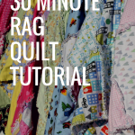 30 Minute Rag Quilt Pattern Tutorial