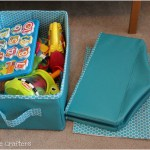 Collapsible Storage Bins Tutorial