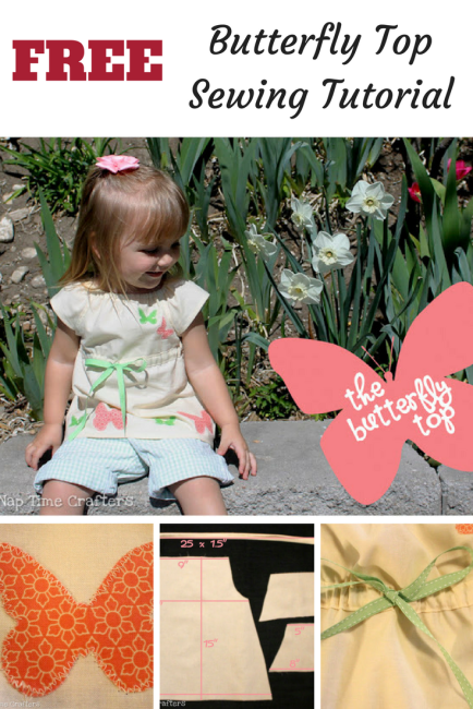 Butterfly Top Sewing Tutorial