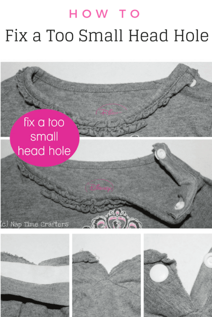 Sewing a Too Small Headhole