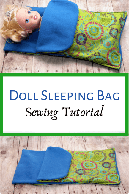 How to make a Doll Sleeping Bag