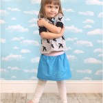 Free Easy Toddler Skirt Tutorial