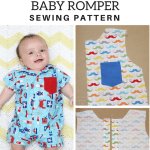 Button-Up Baby Romper FREE Pattern!