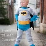 Fleece Batman Costume  Tutorial