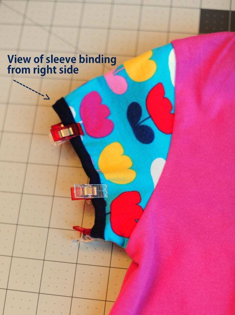 sewing sleeve binding