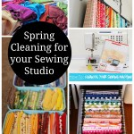 Spring Cleaning and Fabric Organization for Sewing Space