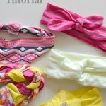 Five Spring Headbands for Girls DIY