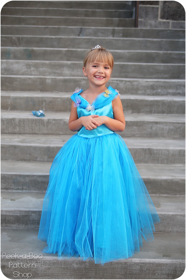 Free Cinderella Dress Pattern Peek A Boo Pages