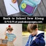 Back to School Sewing Checklist, A Sale & A Sew Along!