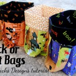 9 Free Halloween Trick-or-Treat Bag Tutorials