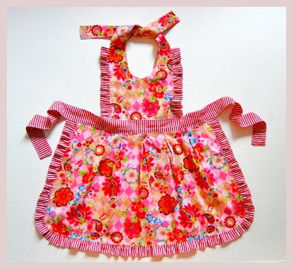 mother and daughter apron pattern