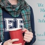 DIY Cozy Flannel Scarf