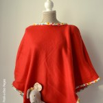 Kid's Blanket Poncho DIY