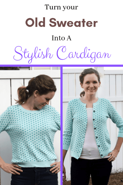 How to Sew a Cardigan