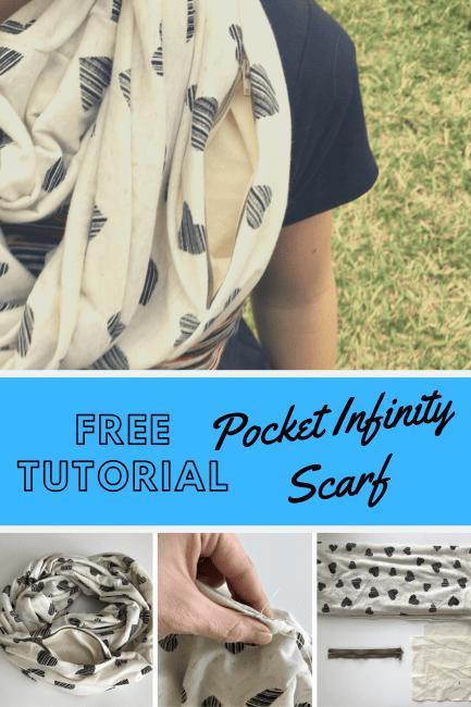 Pocket Infinity Scarf Tutorial
