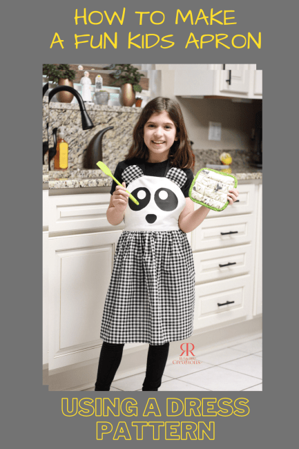 How to Make a Fun Kids Apron