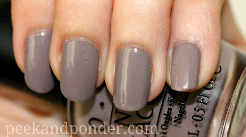 NOTD: OPI Berlin There Done That | Peek & Ponder
