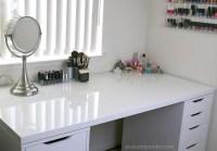 My New IKEA Makeup Vanity, DIY Style! | Peek & Ponder