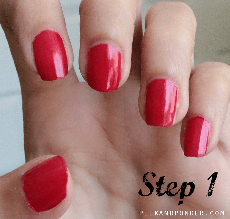 How to: Simple Red, White, and Blue Nails