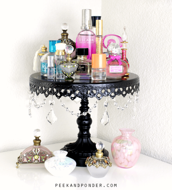 Gorgeous perfume display