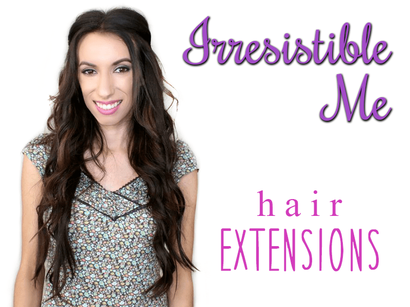 Irresistible Me Hair Extensions Peek Ponder
