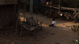 Alone in the light - Mrauk U