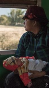 Sleeper class - Train to Myitkyina