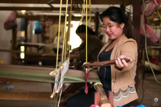 The weaving tradition is still very much alive in Laos - Vientiane