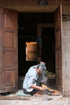 Morning ritual - Muang Ngoi