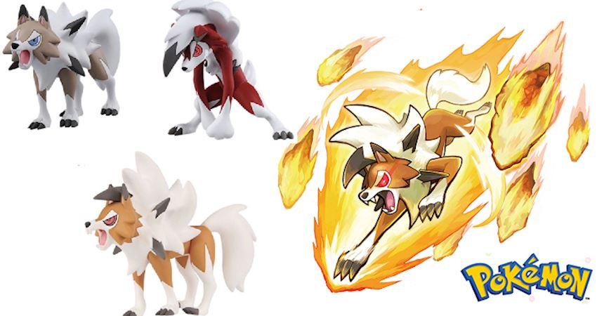 《寶可夢》擁有三種形態的高人氣精靈——鬃巖狼人 - PEEKME
