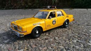 Old Toronto Police Cruiser