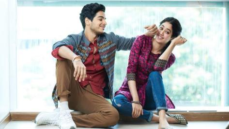Image result for Janhvi Kapoor, Ishaan Khattar pull off a 'cute and fashionable' look on this magazine cover