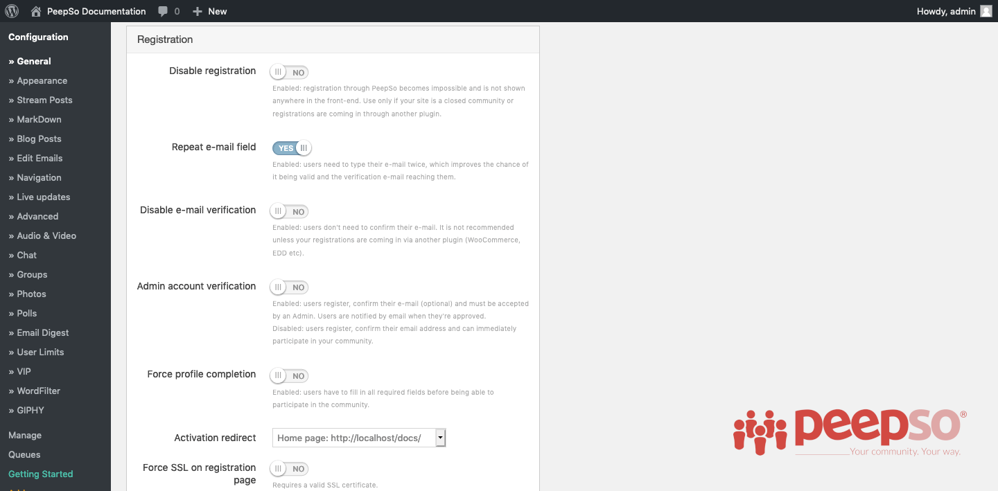 Documentation — Awesome Support