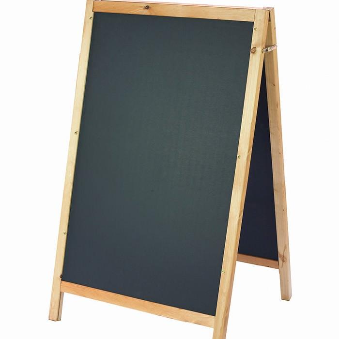 square framed chalkboard a