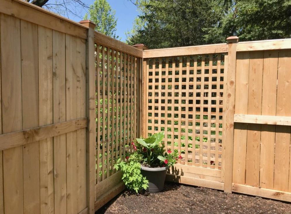 wood fences chicago peerless