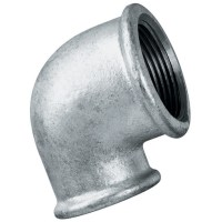 Galvanised Iron Pipe Fittings - Unequal 90 Elbow Female ...