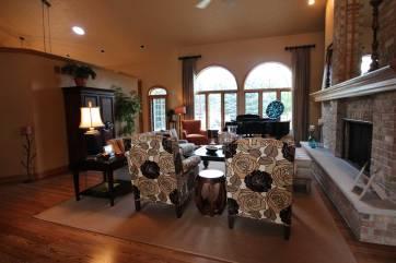 Interior Design Traditional Great Room | Pegasus Design Group | Milwaukee, WI