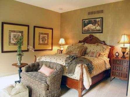 Interior Design Traditional Bedroom | Pegasus Design Group | Milwaukee, WI