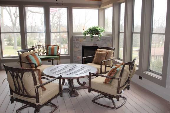 Interior Design Porch | Pegasus Design Group | Milwaukee, WI
