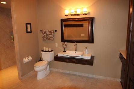 Interior Design Accessible Bathroom| Pegasus Design Group | Milwaukee, WI