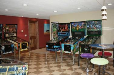Interior Design Game Room | Pegasus Design Group | Milwaukee, WI
